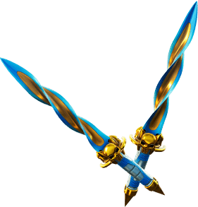 Pickaxe: Gilded Morphic Blades