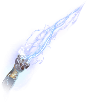 Pickaxe: Hand of Lightning