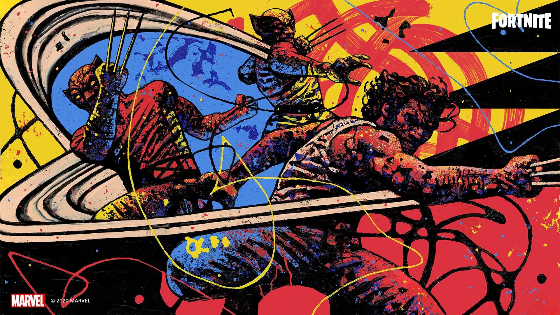 14BR MarvelKnockout Wolverine Social