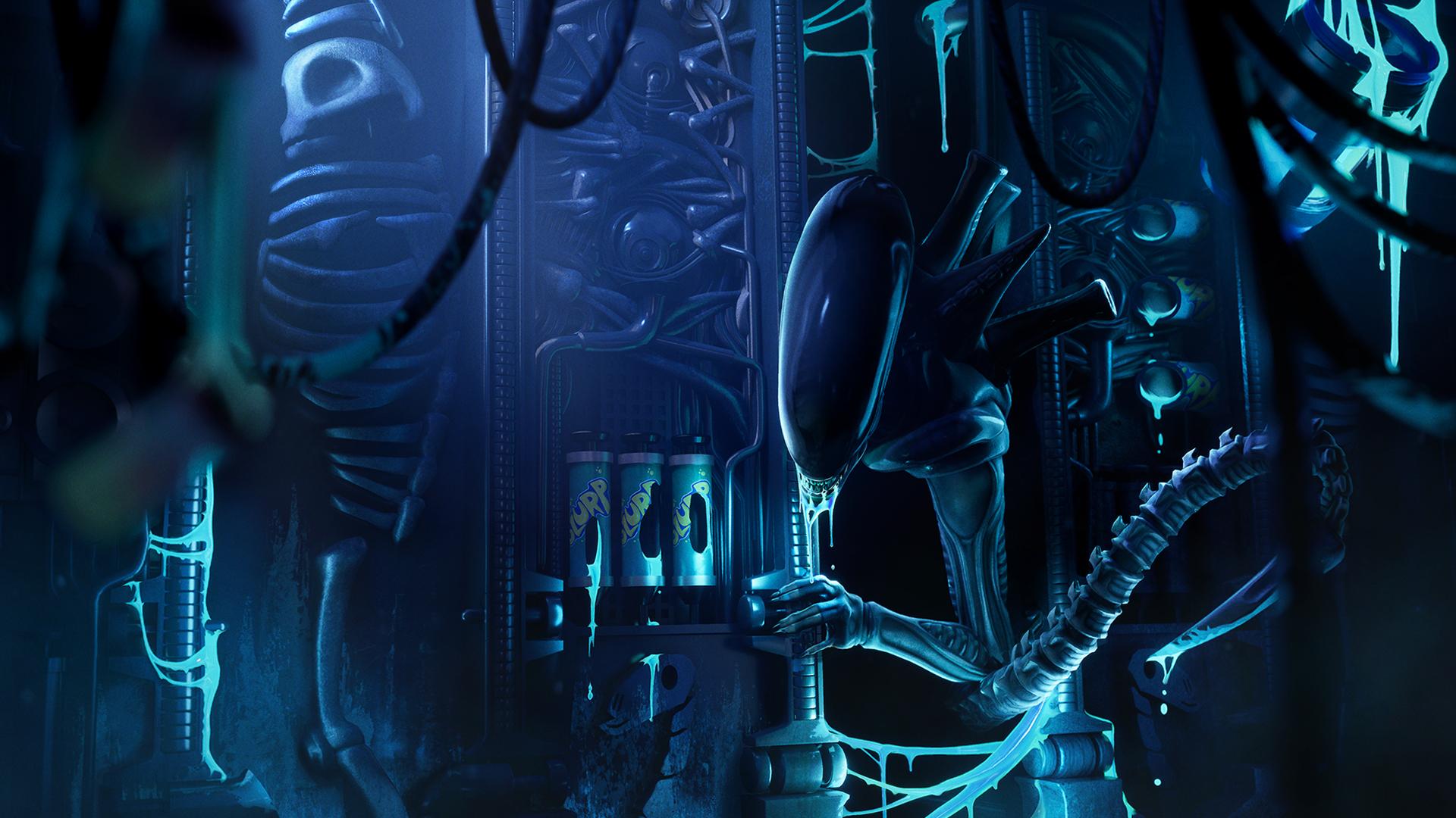Ripley and Xenomorph icon