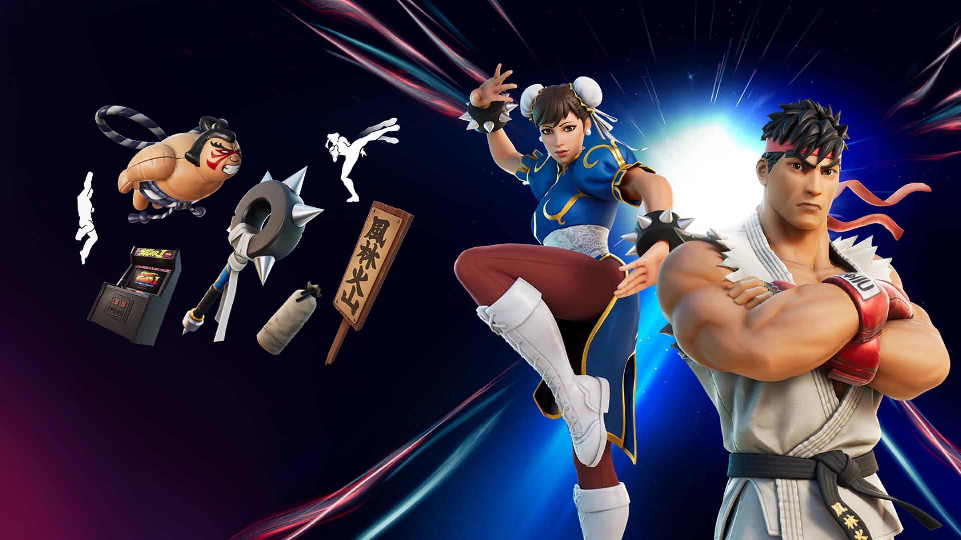 Ryu & Chun-Li Bundle icon
