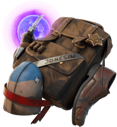 Agent Jones Field Pack (Jump 42) Back Bling