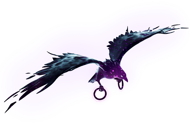 Ala delta Alma alada de Raven