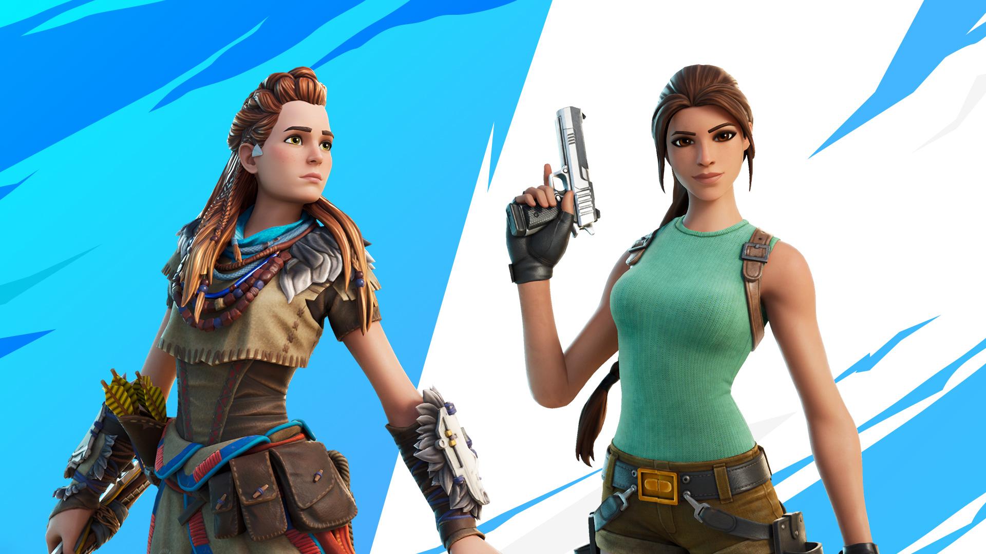 Team Up! Aloy & Lara icon