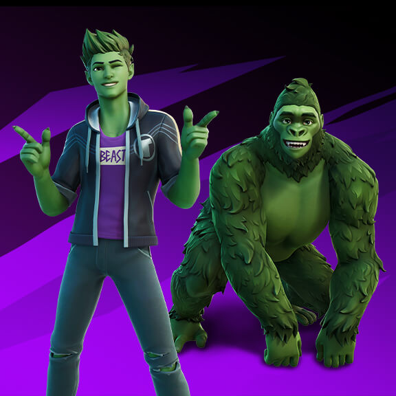 Fortnite Beast Boy Outfit