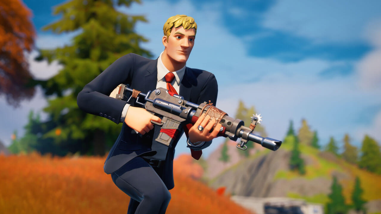Fortnite Agent Jones Outfit