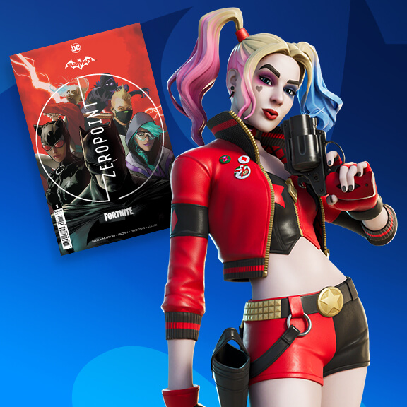 Fortnite Harley Quinn Zero Point Outfit