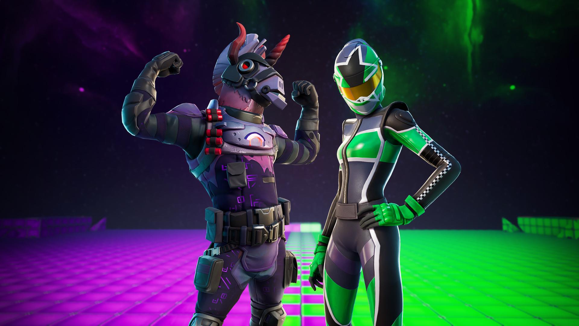 Green VS Purple icon