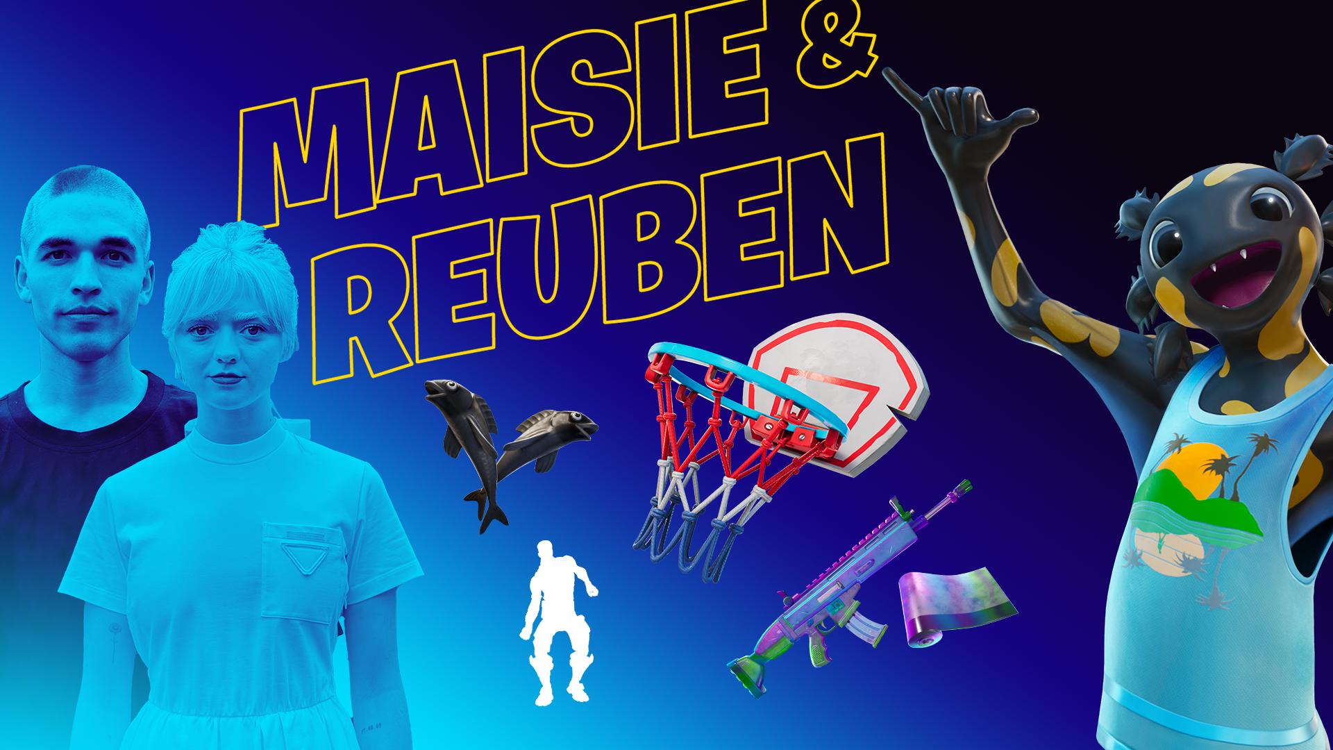 Maisie Williams & Reuben Selby's Locker Bundle icon