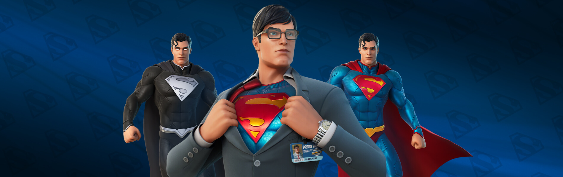 Fortnite Superman Battle Pass Outfit