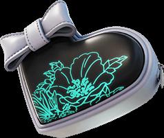 Acessório para as Costas Coraçãozinho Sombrio da Charlotte do Fortnite