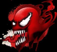 Spray Quero Pintar Tudo de Vermelho do Fortnite
