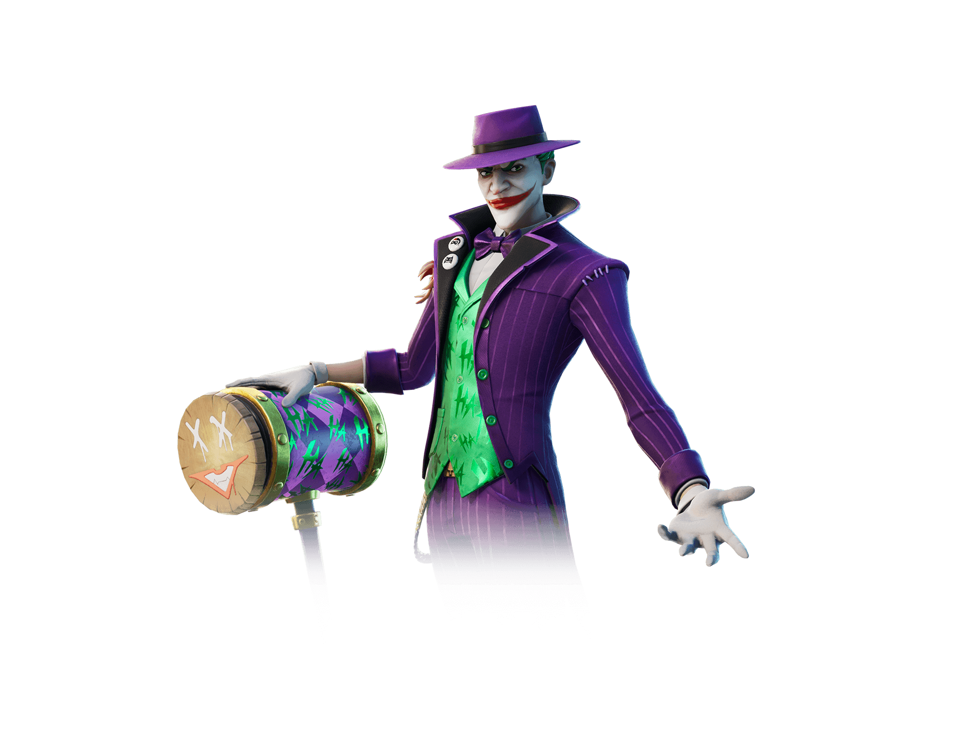 The Joker outfit (with an additional style!)
