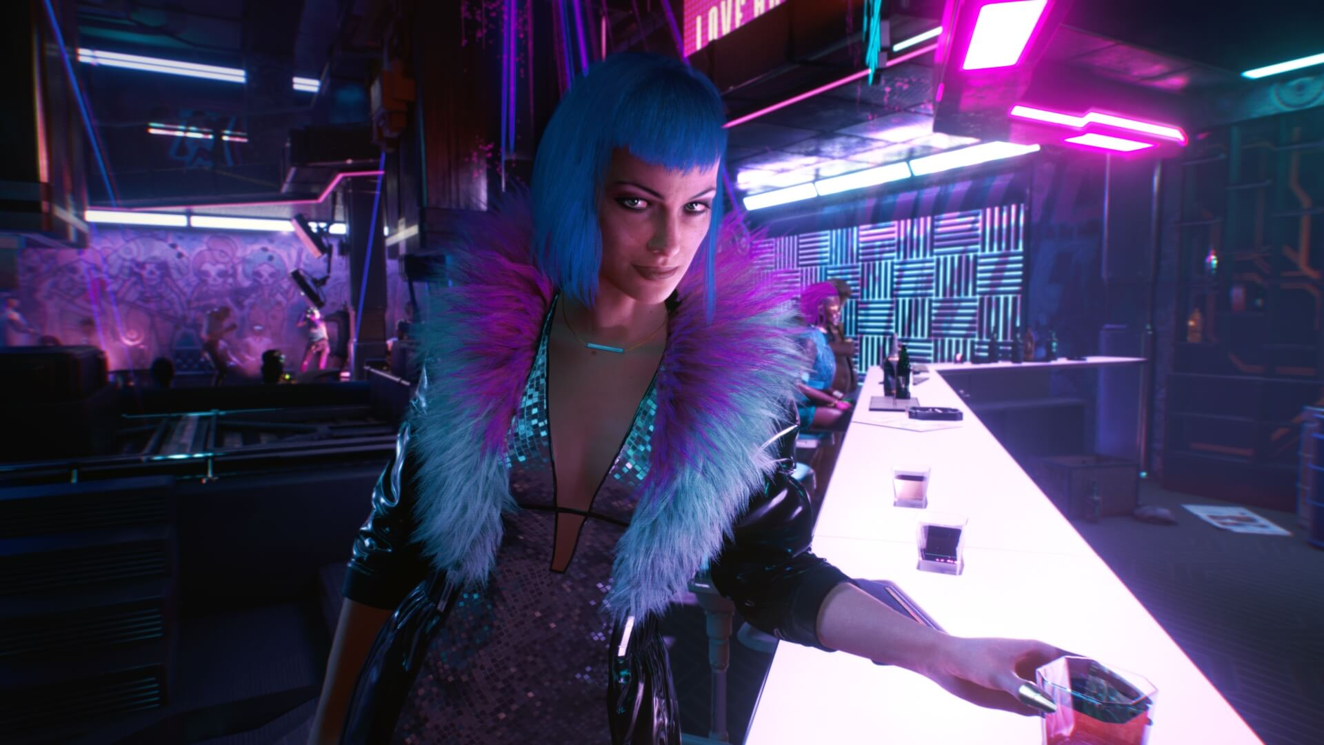 Evelyn from Cyberpunk 2077