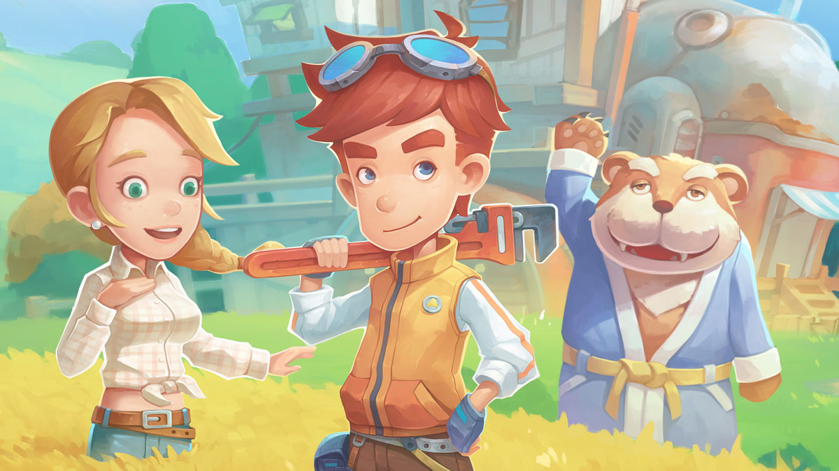 The Enchanting Sandbox Simulation RPG 'My Time at Portia' Coming Soon to the Epic Games Store
