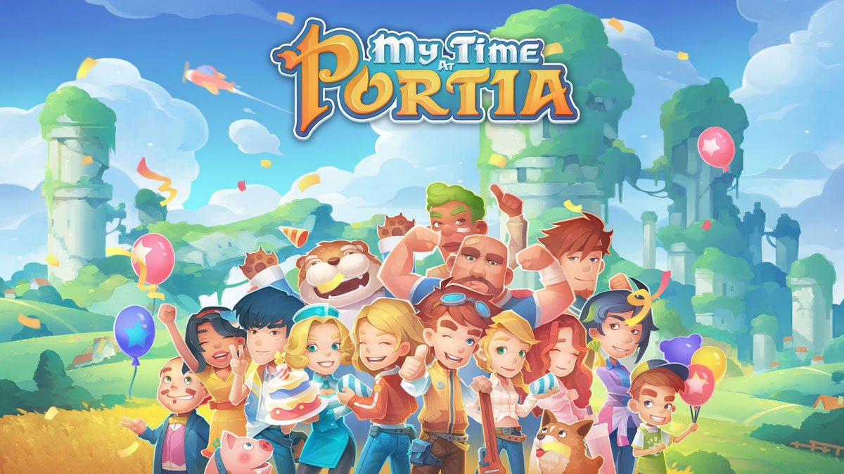 Start a New Life in the Enchanting Town of Portia!