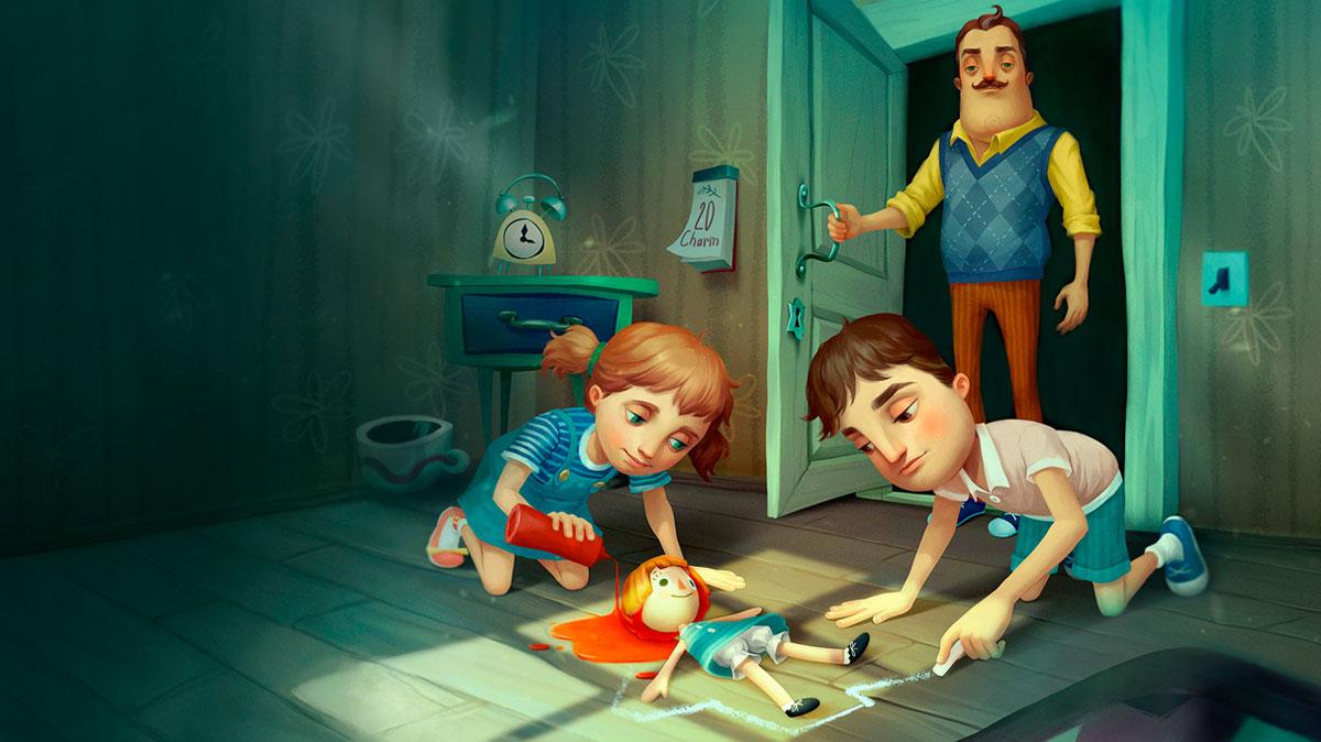 Explore the Past in tinyBuild's 'Hello Neighbor: Hide and Seek'