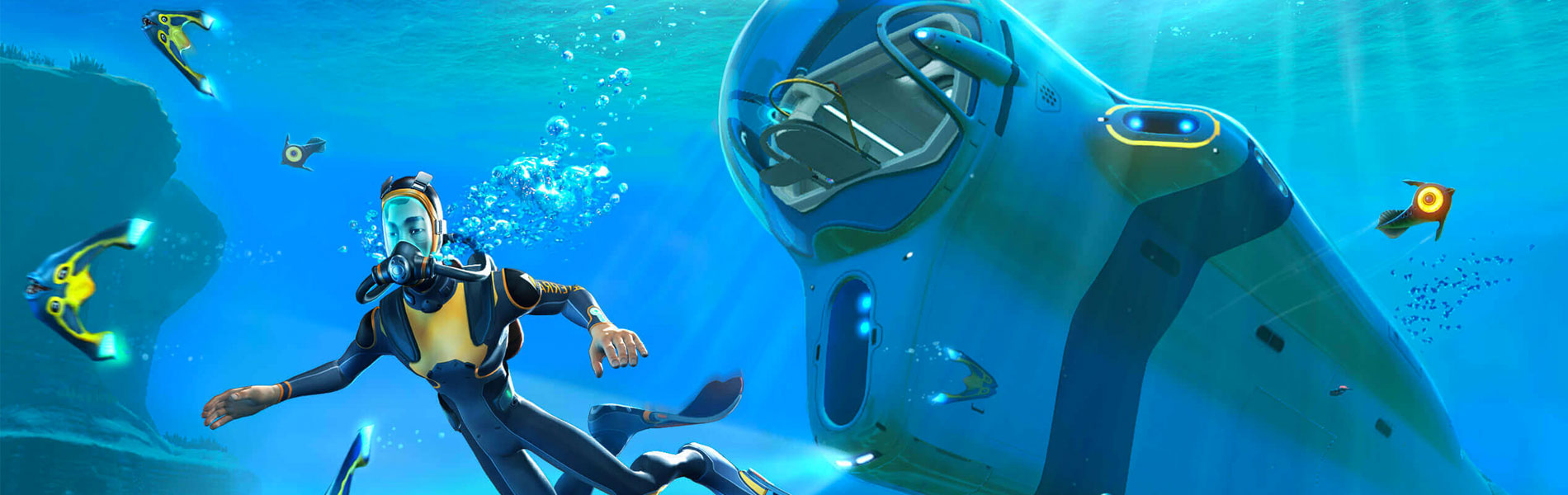 Get the Gift of Subnautica, Now Available Free for a Limited