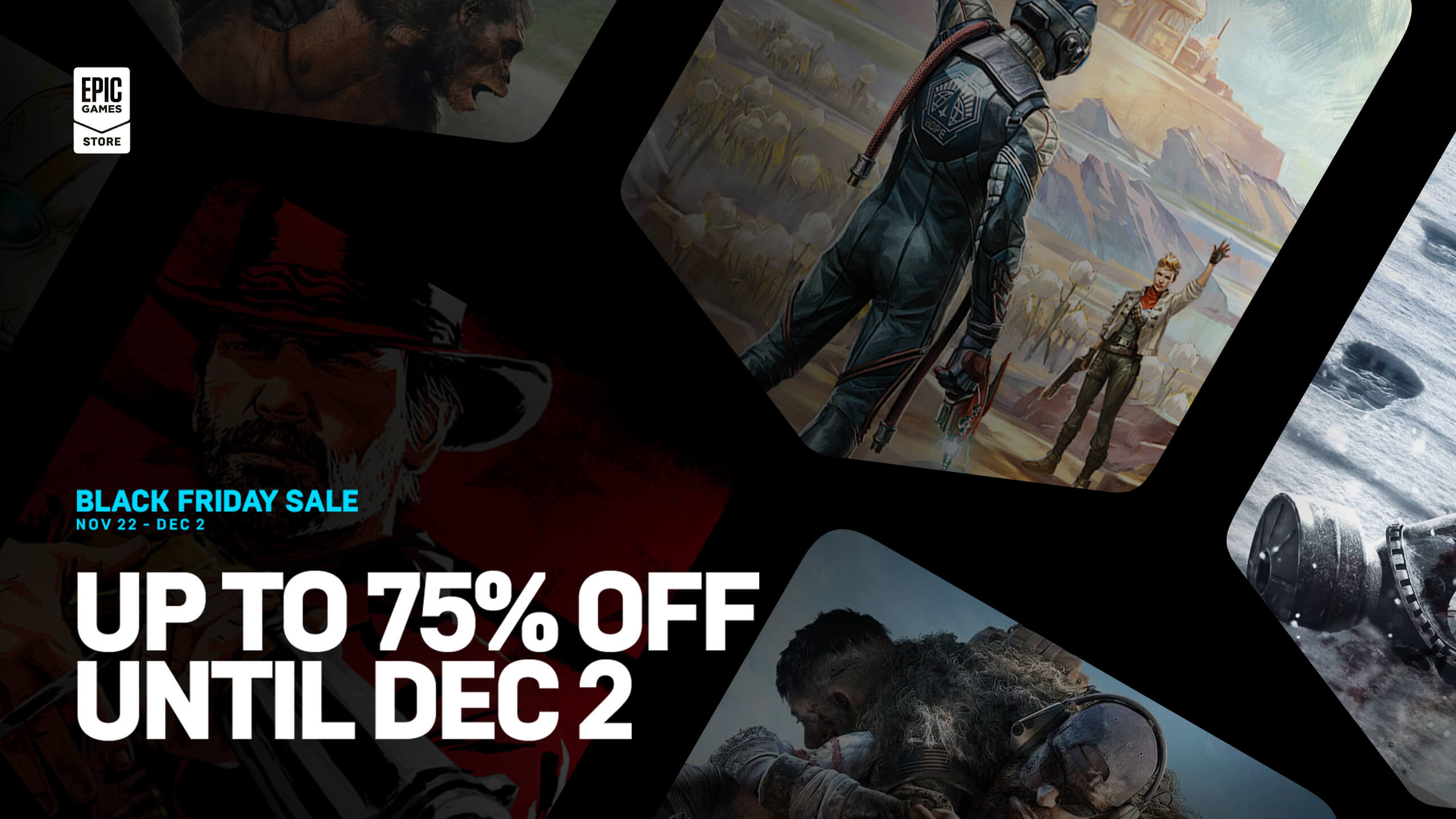 Save Big And Stock Up During The Epic Games Store Black Friday Sale