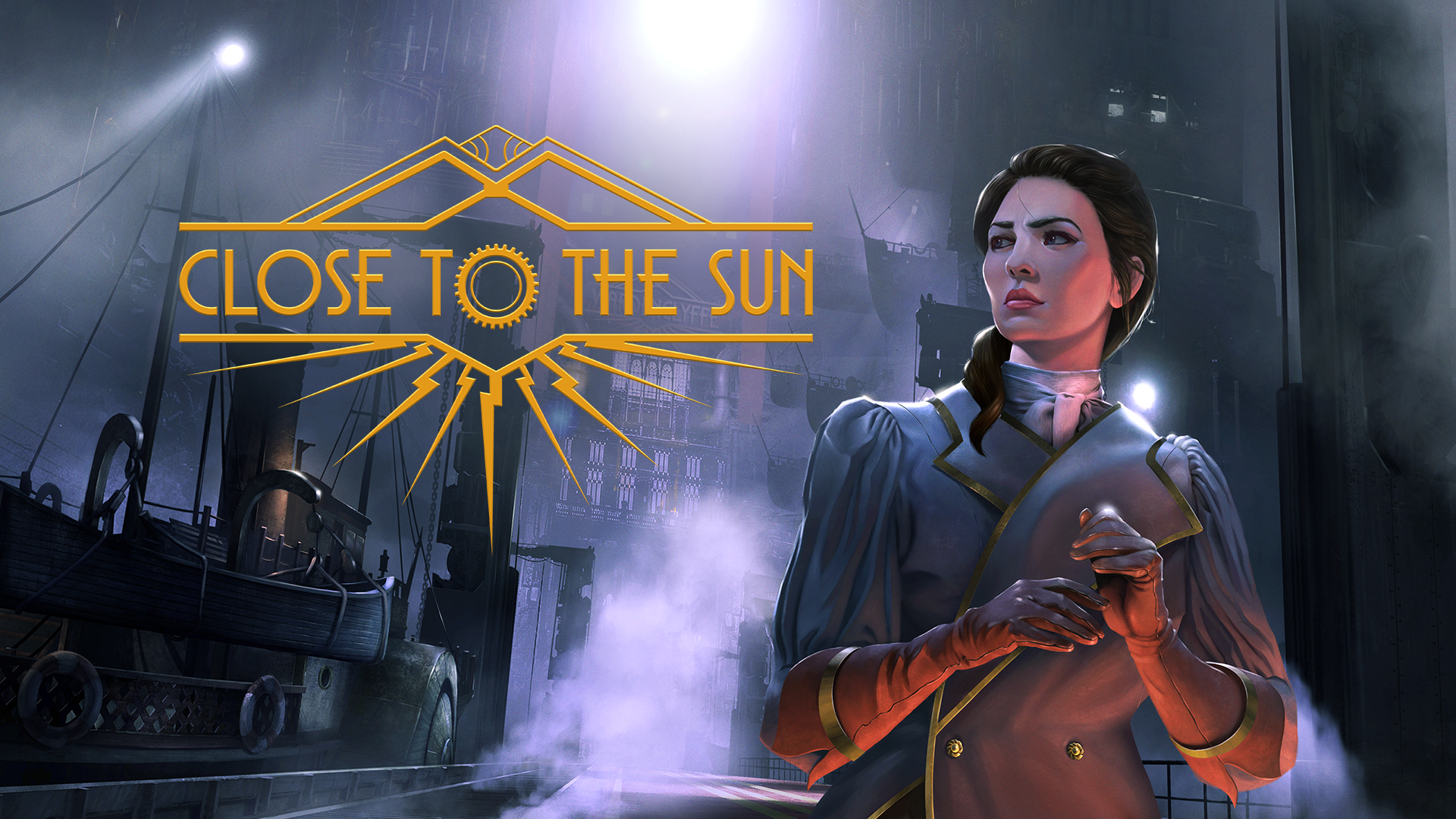 Survive Aboard A Mysterious Ship In An Alternate Version Of The 19th Century. 'Close To The Sun' Is Available For Pre-Purchase Now!