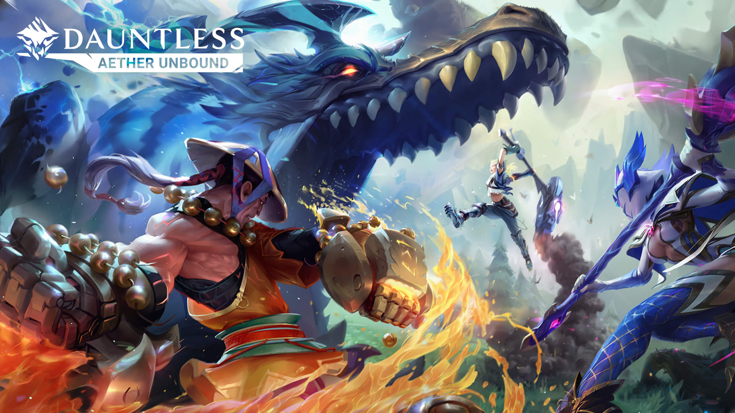 Dauntless Leaves Early Access with New Season: Aether Unbound