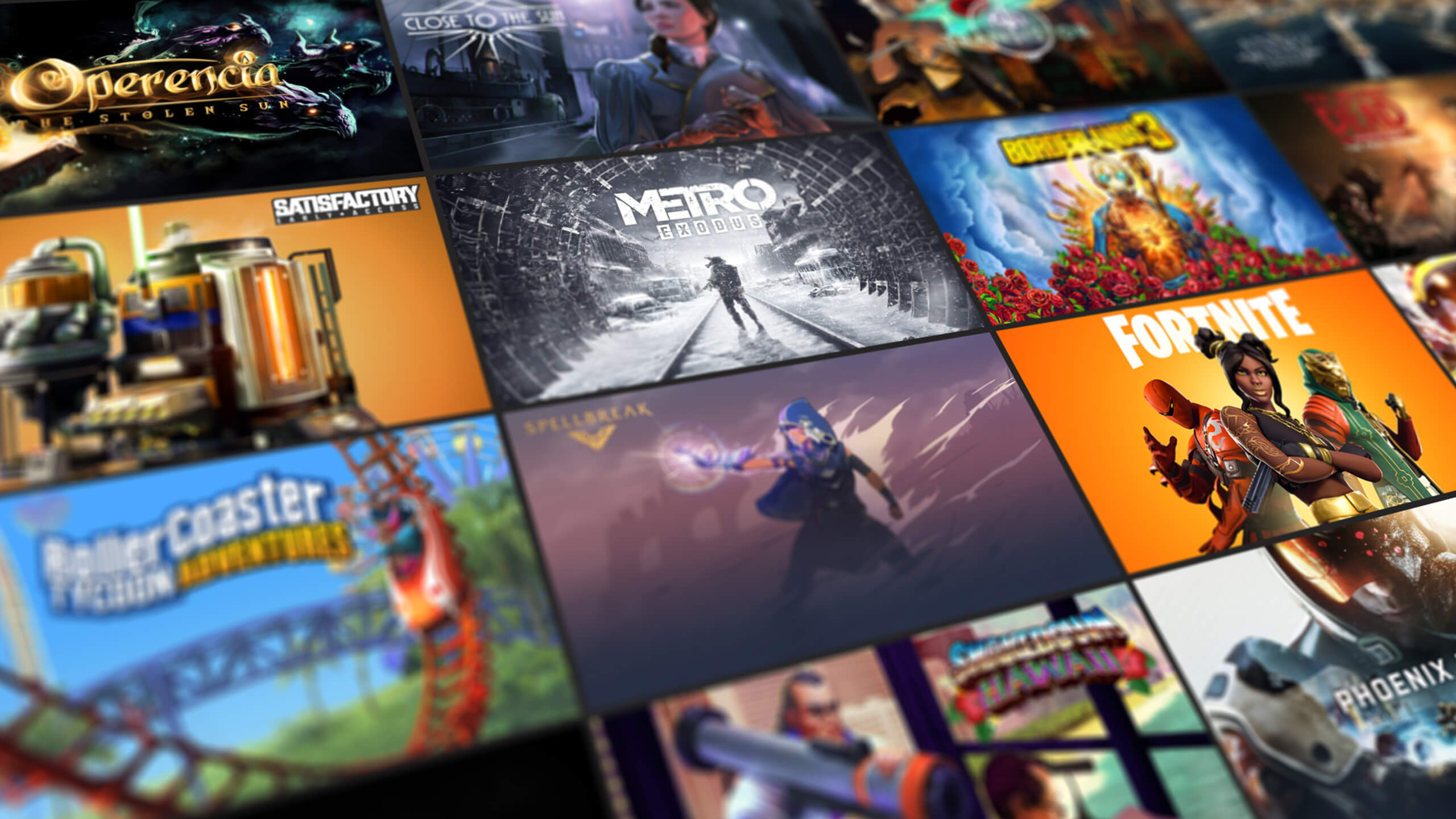 Epic Games Store List
