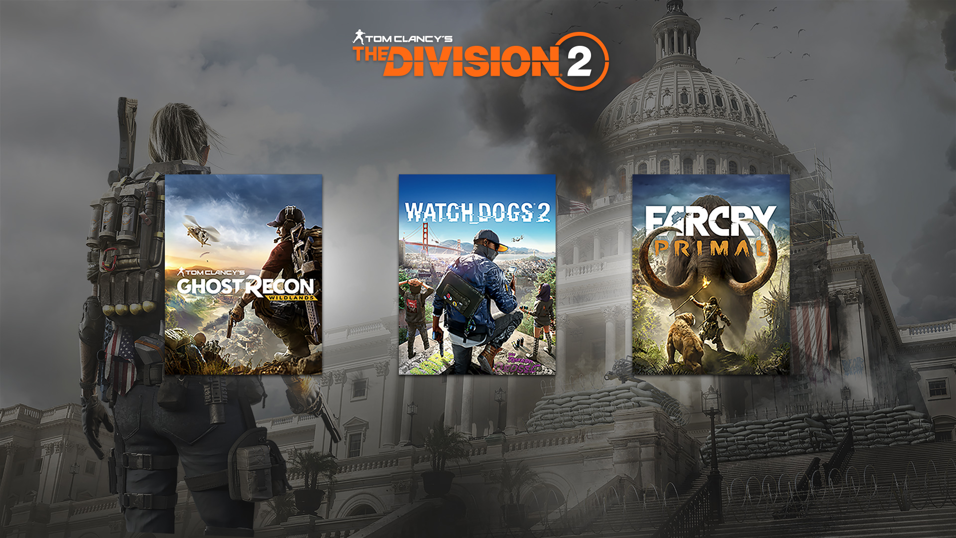 Pre-Purchase The Division 2 and Get a FREE Game!