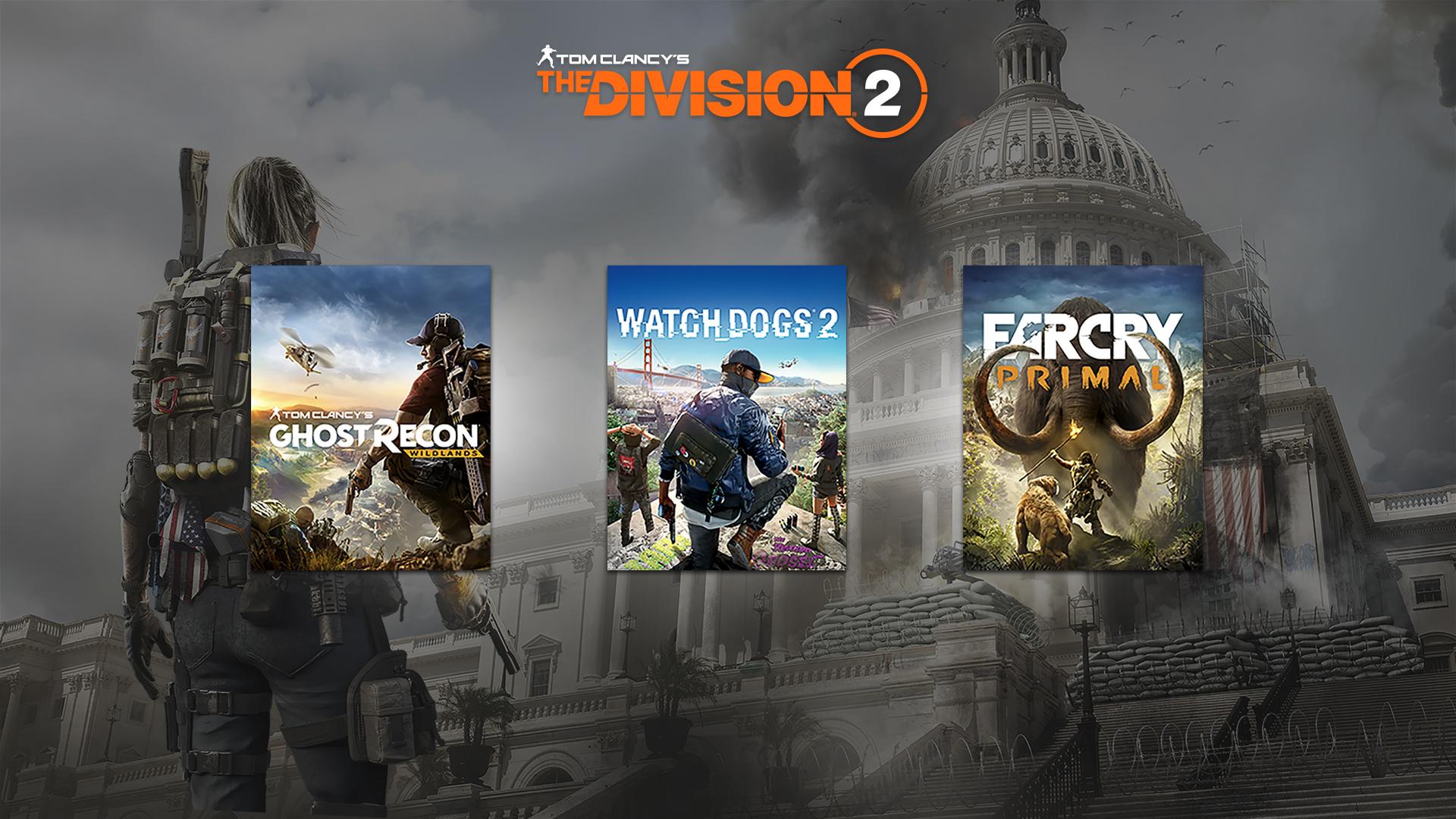 ¡Compra The Division 2 de forma anticipada y consigue un juego GRATIS!
