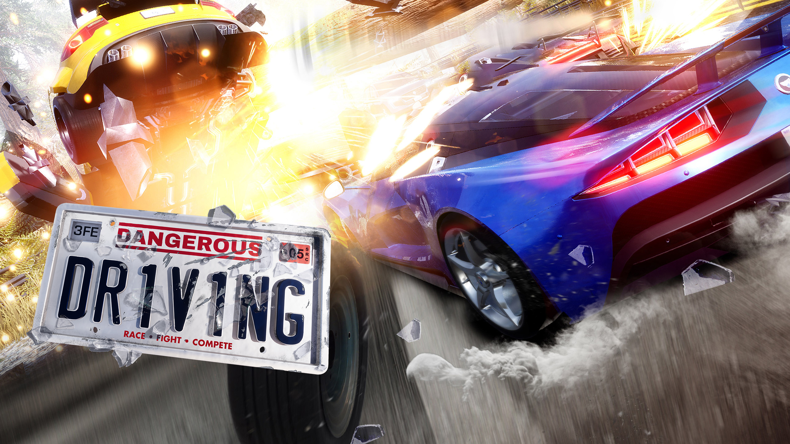 Bump, Slam And Do Whatever Else Is Necessary To Take Down Your Opponents In This High-Speed Racer. 'Dangerous Driving' Is Available For Pre-Purchase Now!