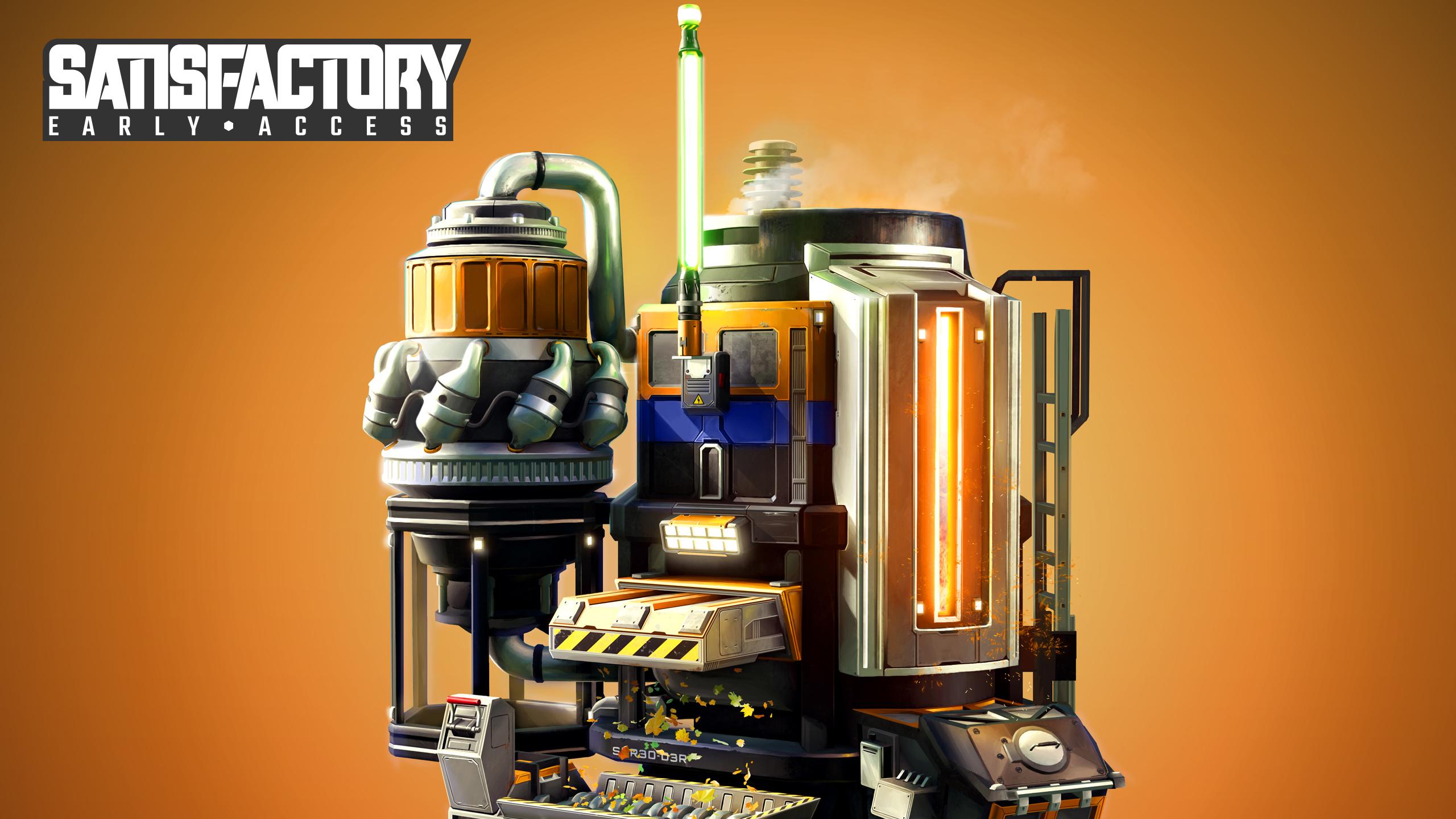 Construye, automatiza y explora un planeta alienígena mientras construyes una máquina de propósitos misteriosos. ¡Ya disponible la compra anticipada de Satisfactory!