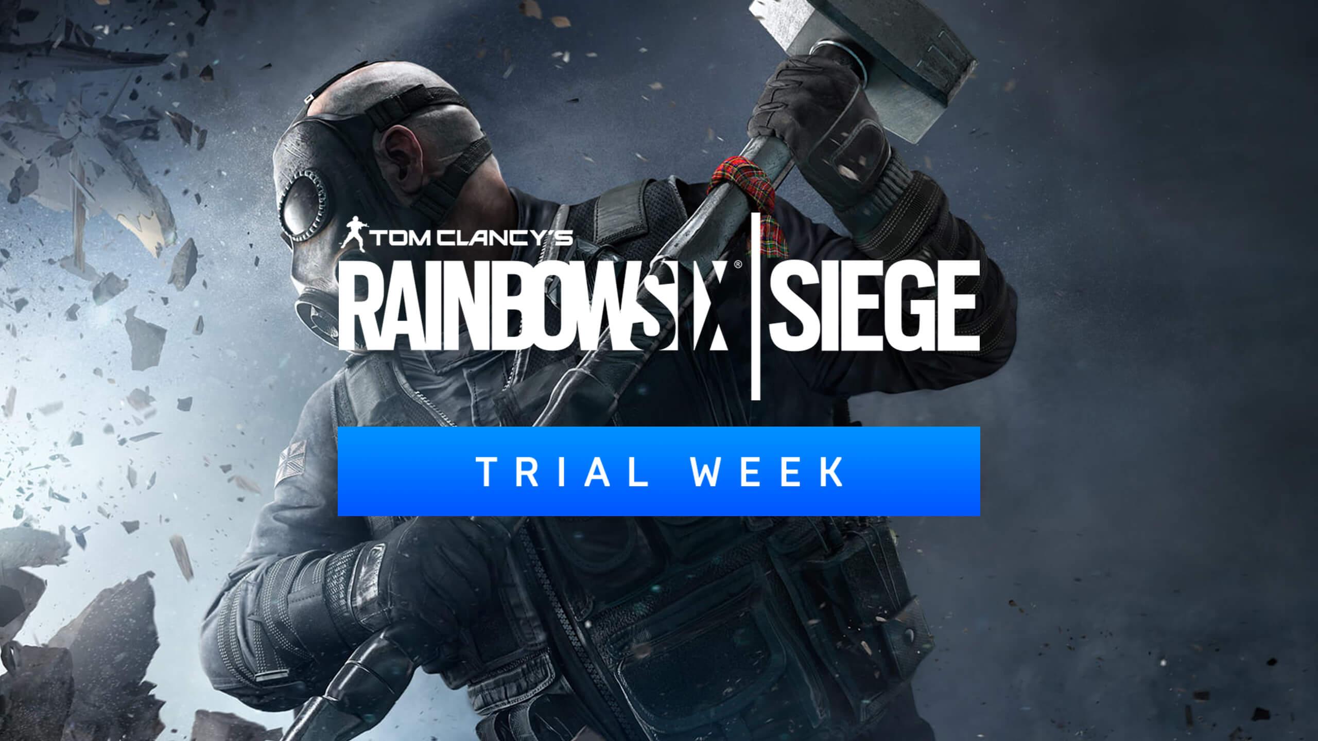 Free Trial Week Tom Clancy S Rainbow Six Siege