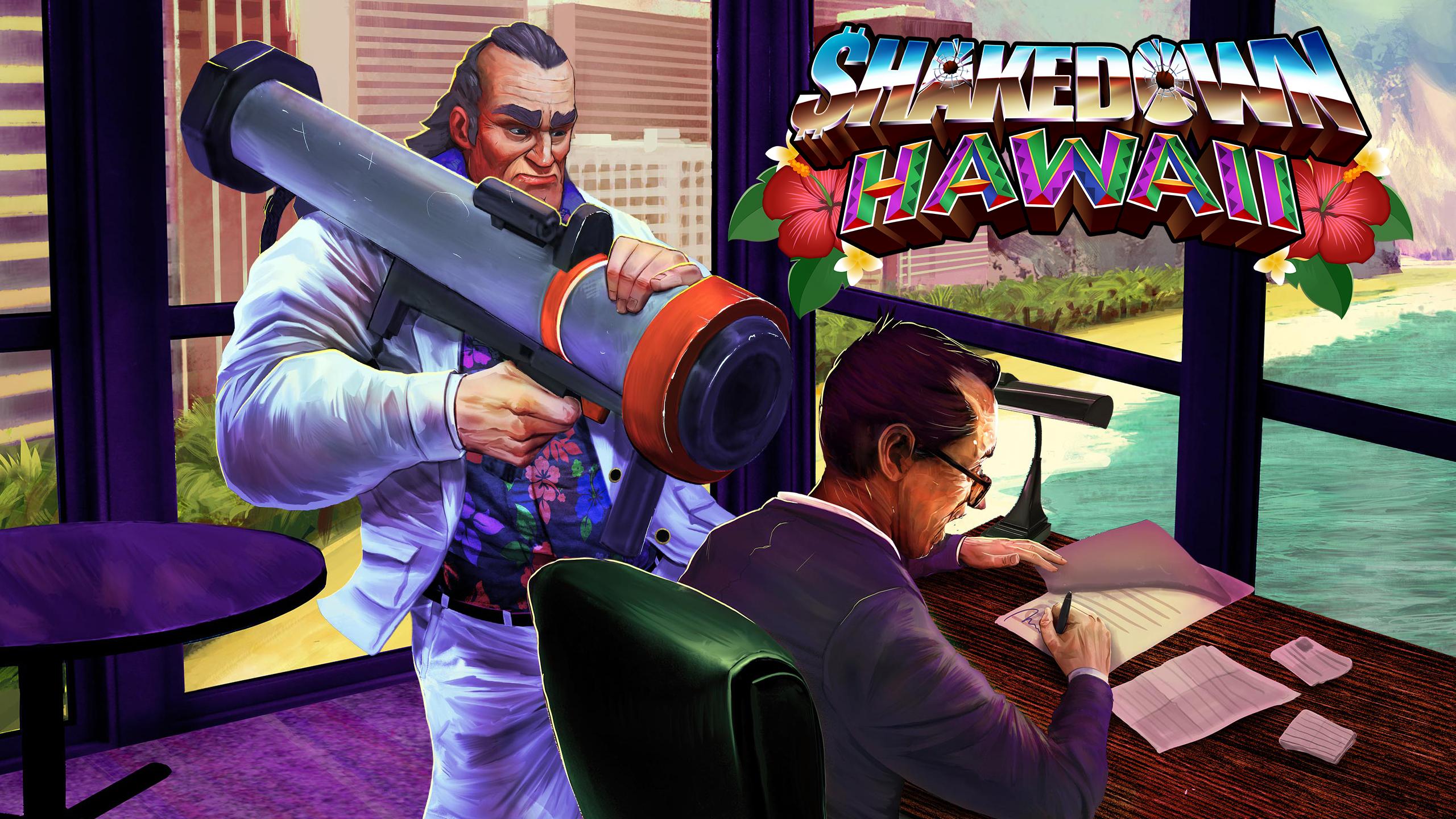 Toda una isla por conquistar. Construye tu imperio de 16 bits en Shakedown: Hawaii, ¡ya disponible!