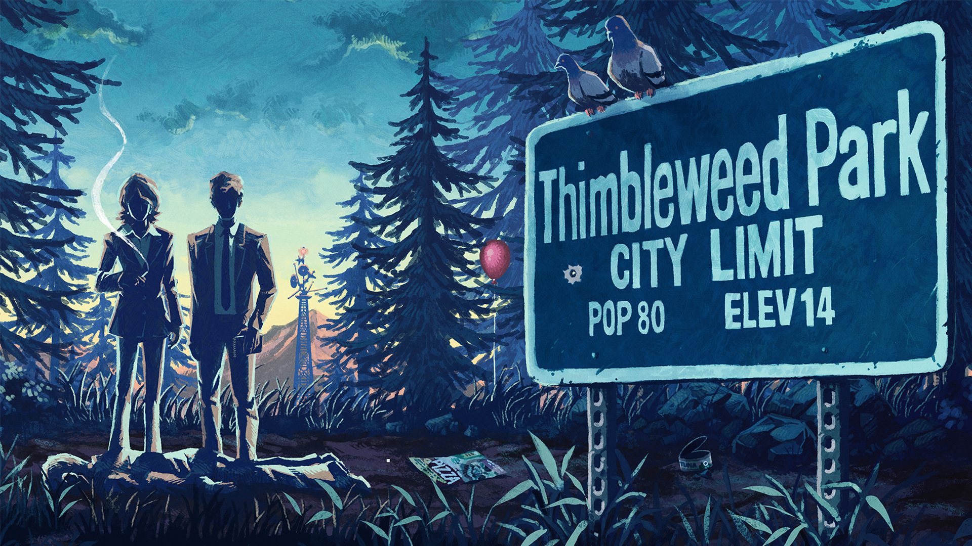 'Thimbleweed Park' Is Available Free From February 21st (11AM EST) - March 7th (10:59AM EST)!