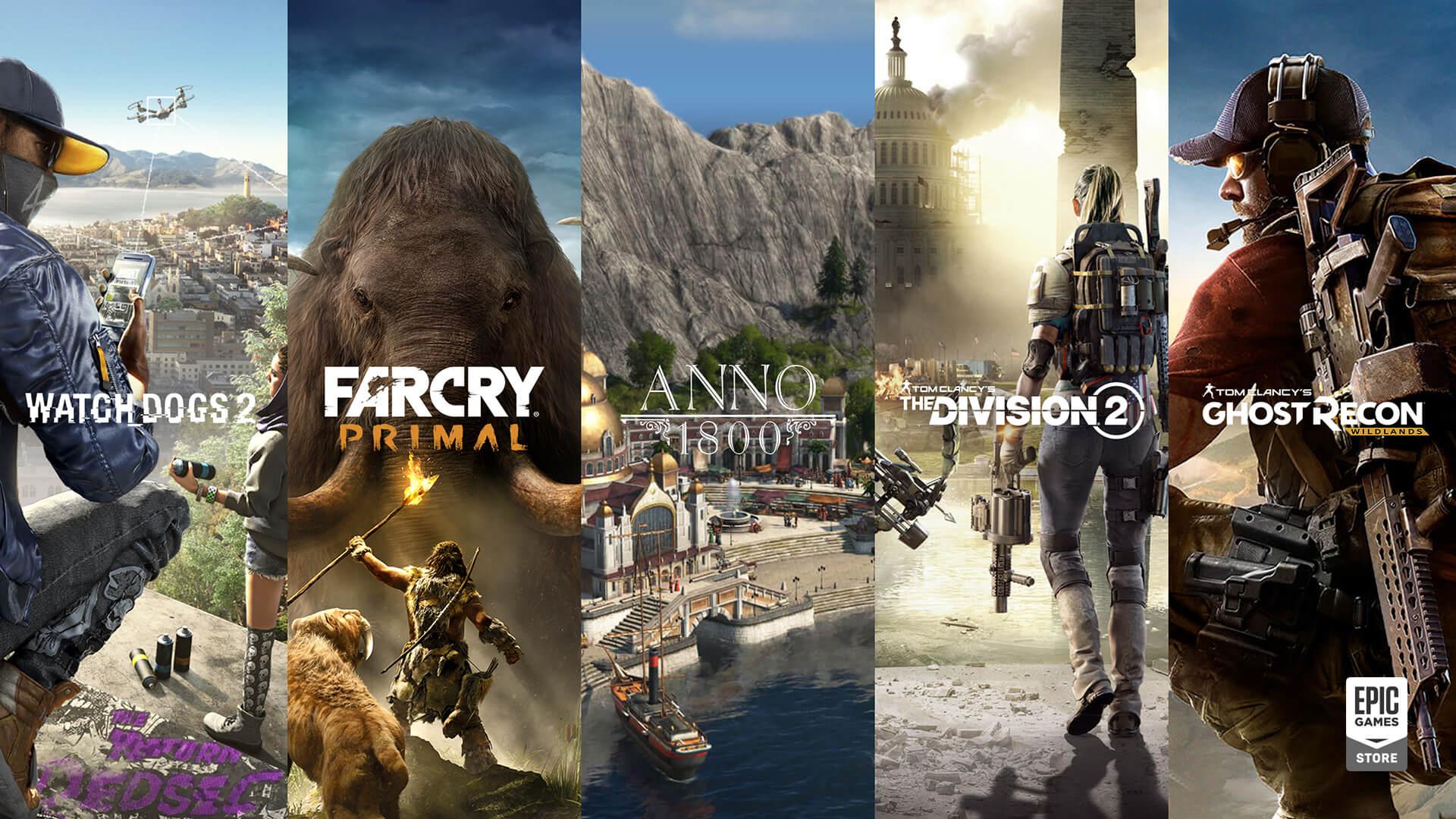 メガセールでUbisoftゲームをお得にゲット!