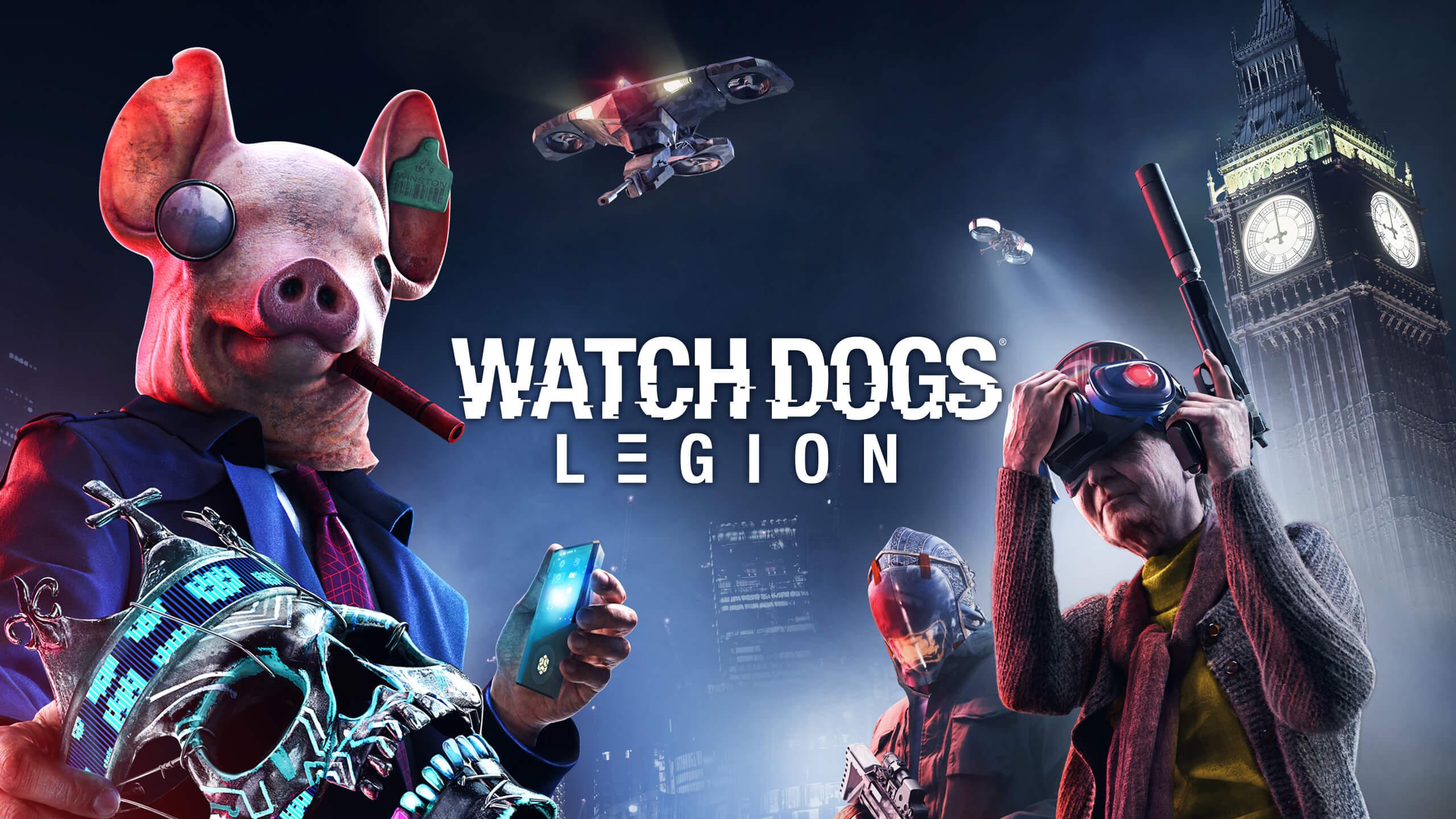 近未来のロンドンを舞台とする広大なオープンワールドを探検し、レジスタンスを組織せよ。『Watch Dogs:Legion』は現在事前購入が可能です。