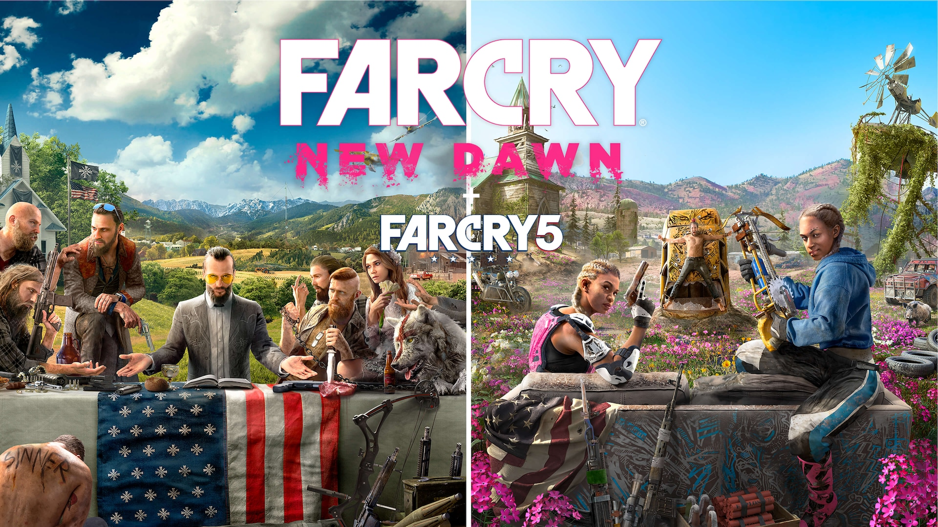 Far Cry New Dawn Complete Far Cry 5 Far Cry New Dawn Deluxe