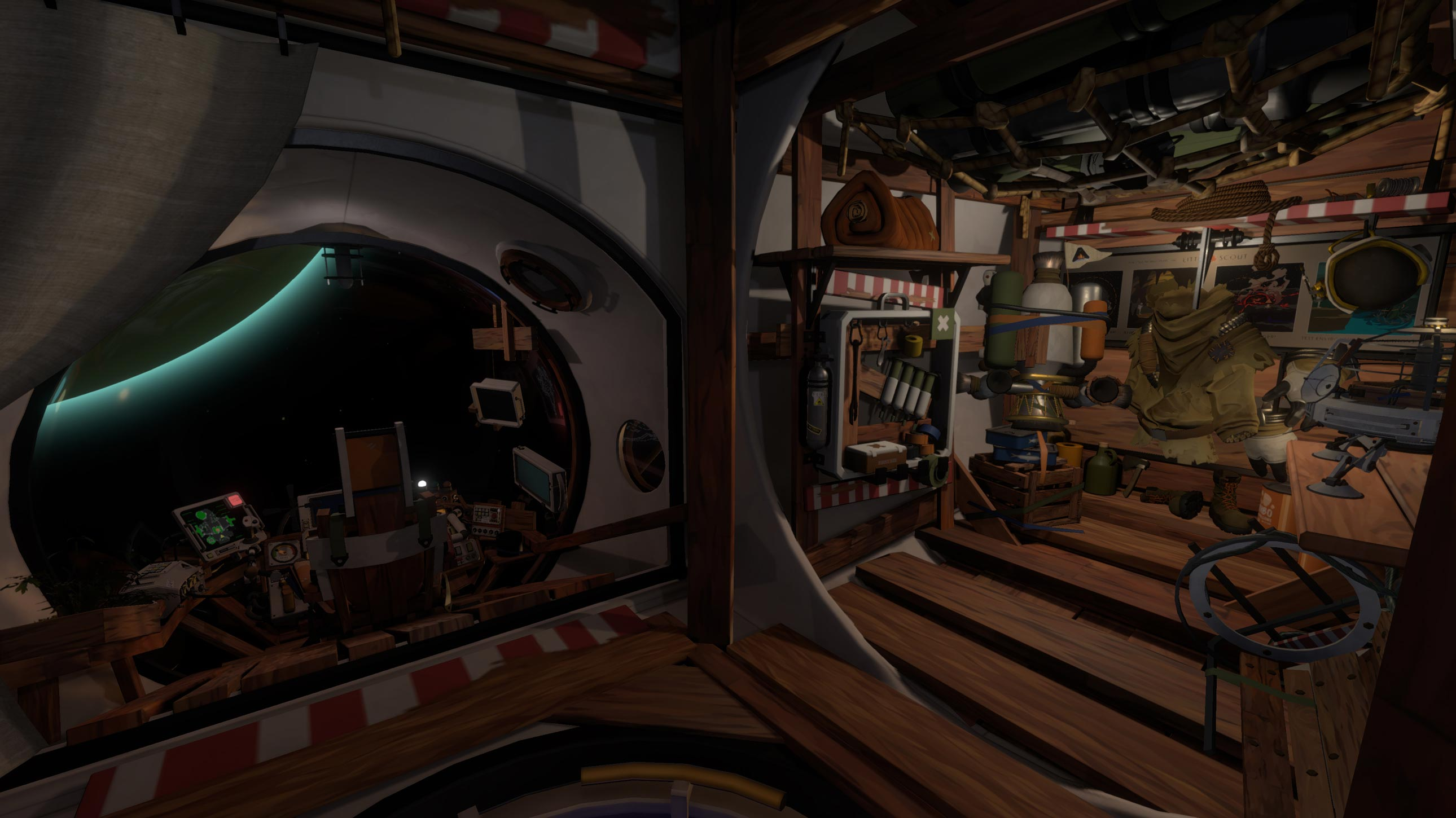 Outer Wilds Ship Interior