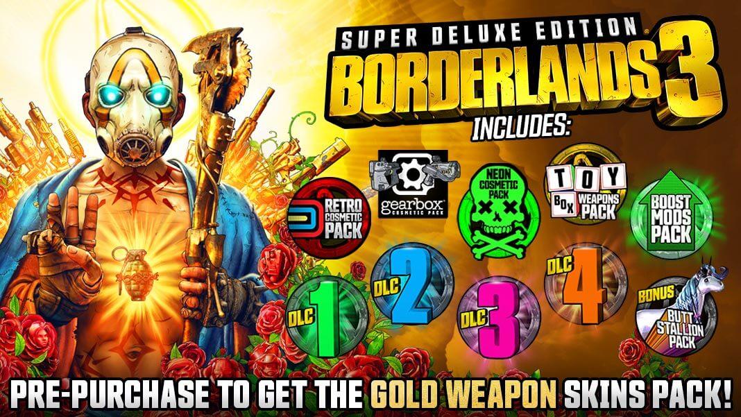 Super Deluxe Edition - Borderlands 3 Super Deluxe Edition