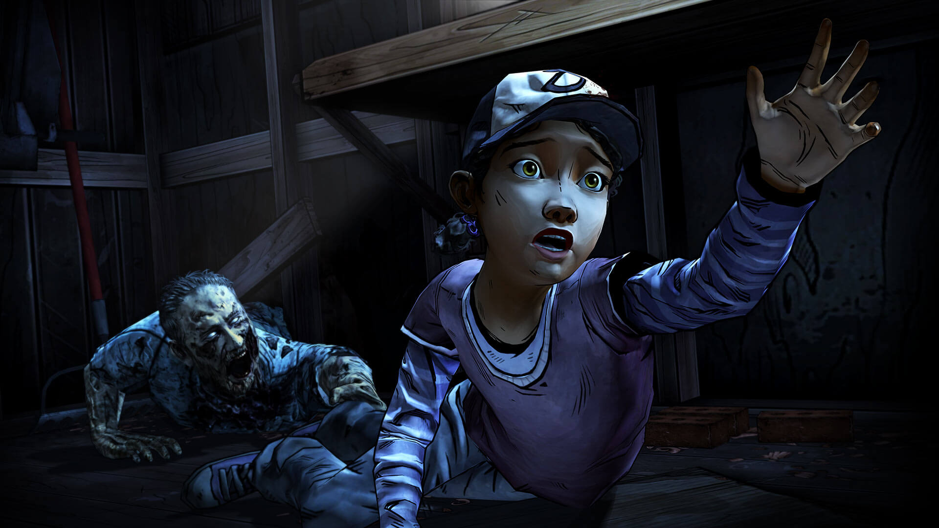 Play as Clementine in The Walking Dead Season Two PC Game