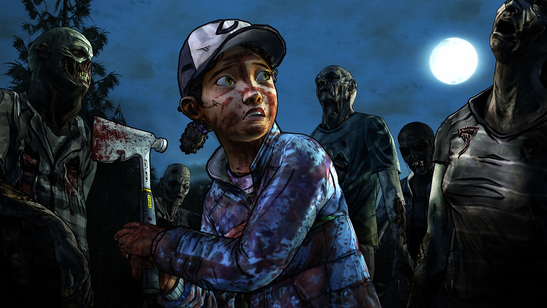 The Walking Dead Season Two Clementine