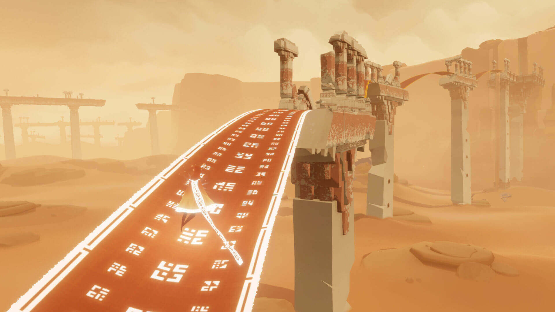 Image of Journey one of the best video games for quarantine.