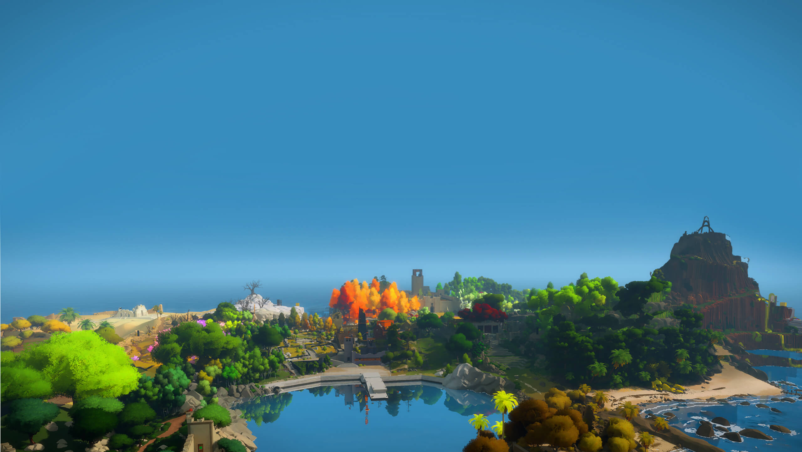 The Witness - You wake up, alone, on a strange island full of puzzles.