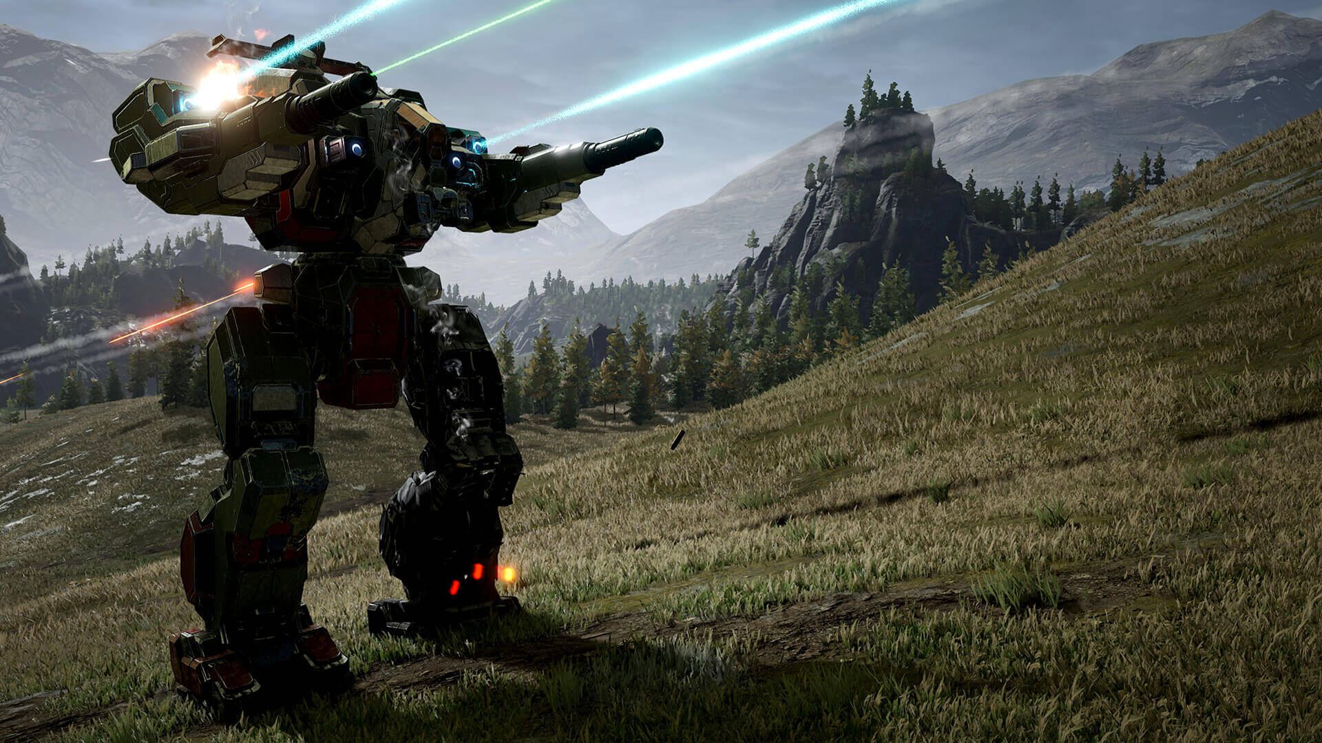 MechWarrior 5: Mercenaries, Piranha Games