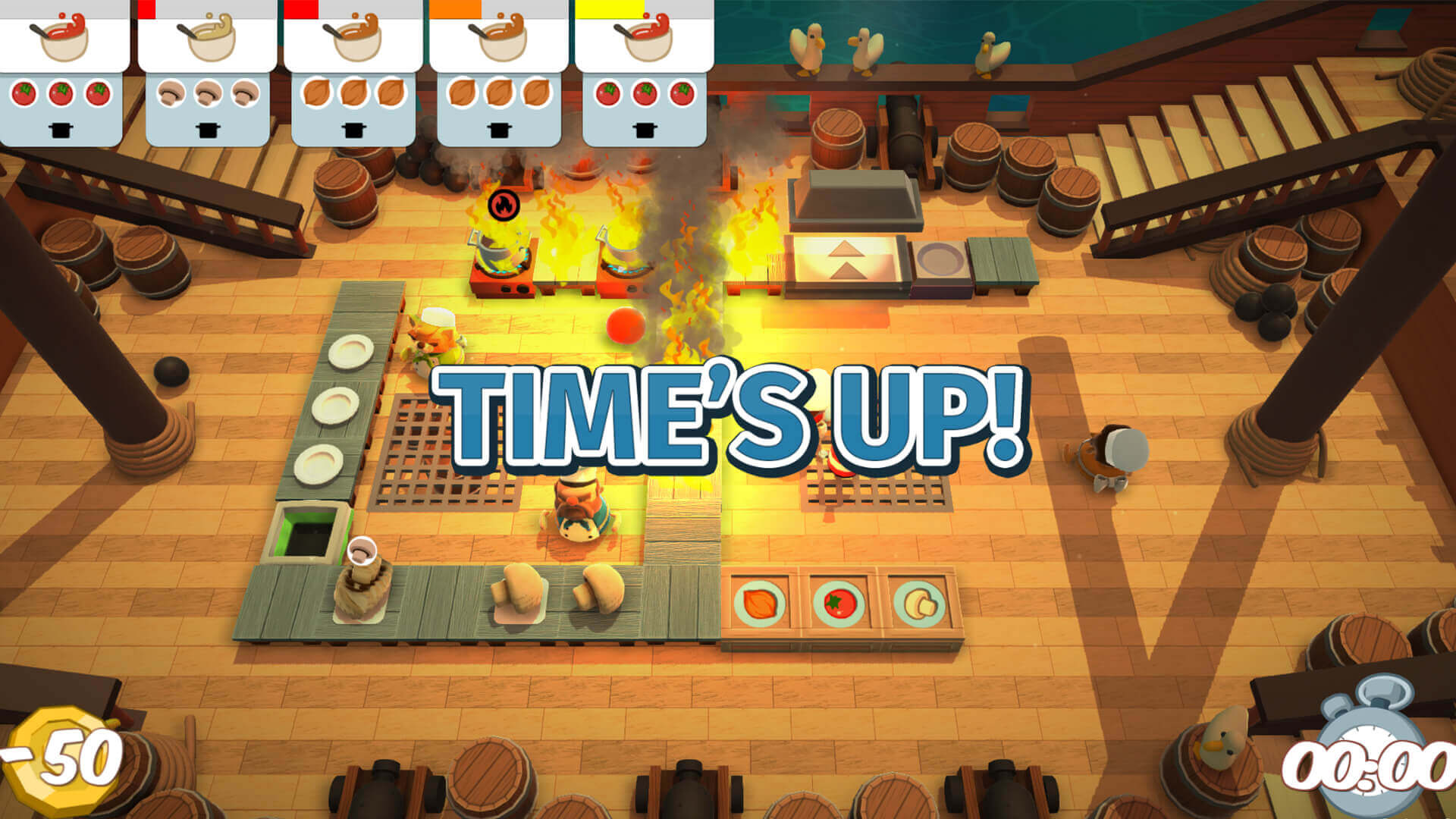 Overcooked - Szalone gotowanie wspólnie ze znajomymi!