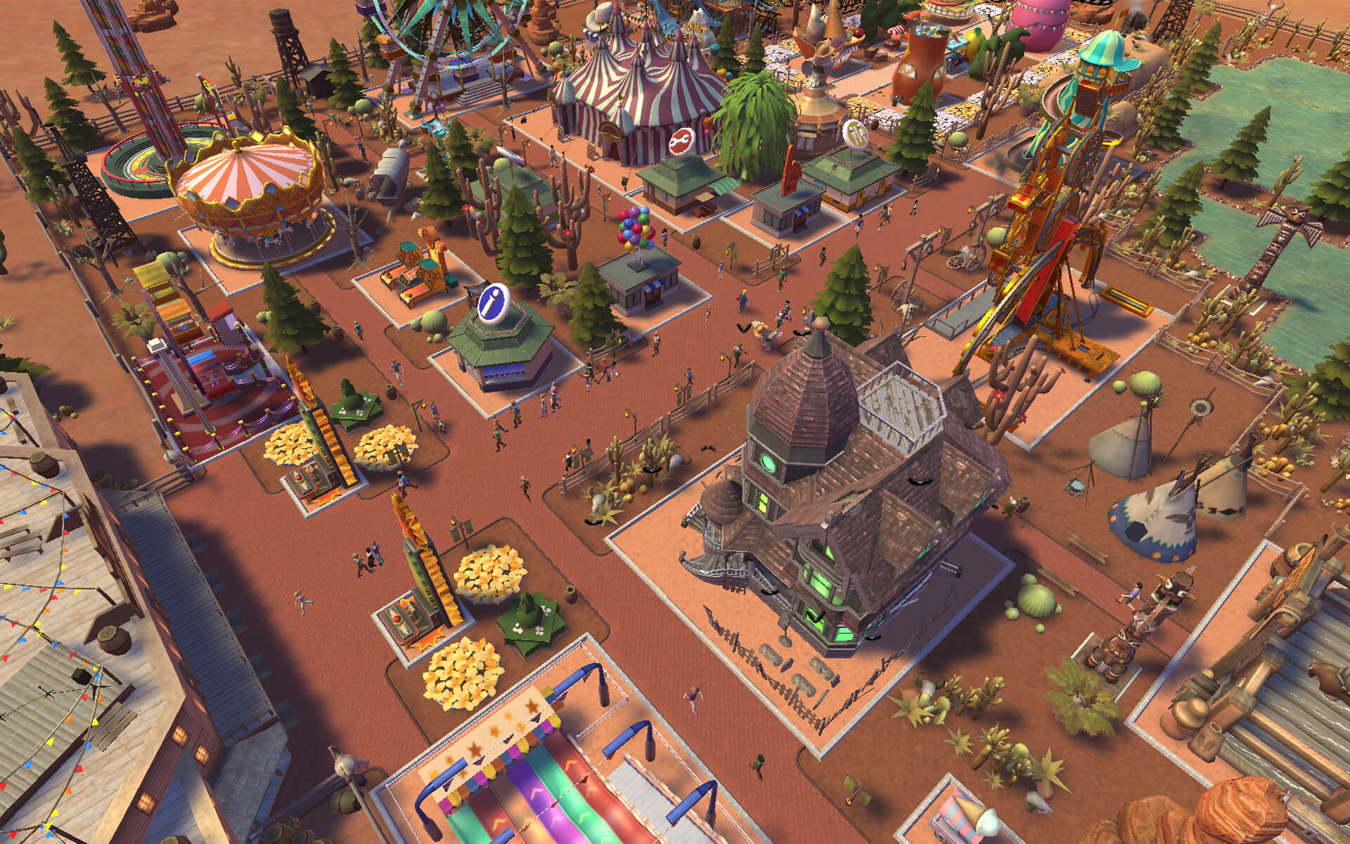 RollerCoaster Tycoon Adventures - Family Friendly Tycoon Fun!