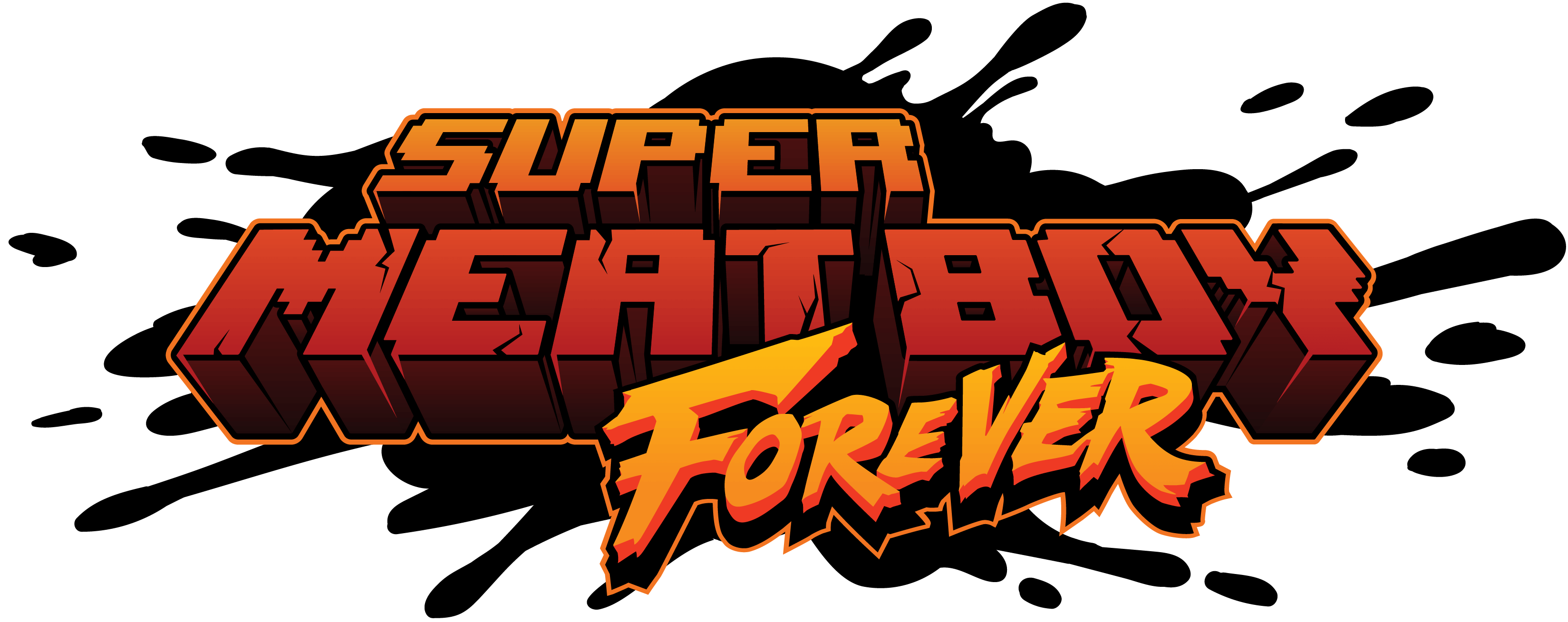 Logo Super Meat Boy Forever