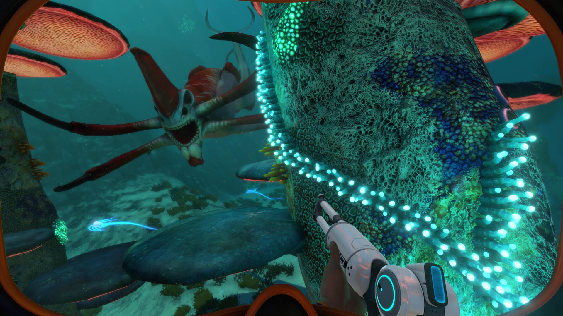 Subnautica Bulb Zone Base