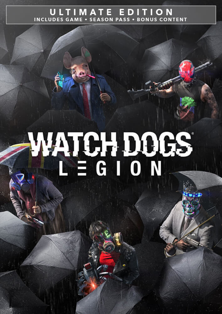 Watch Dogs Legion Watch Dogs Legion Ultimate Edition