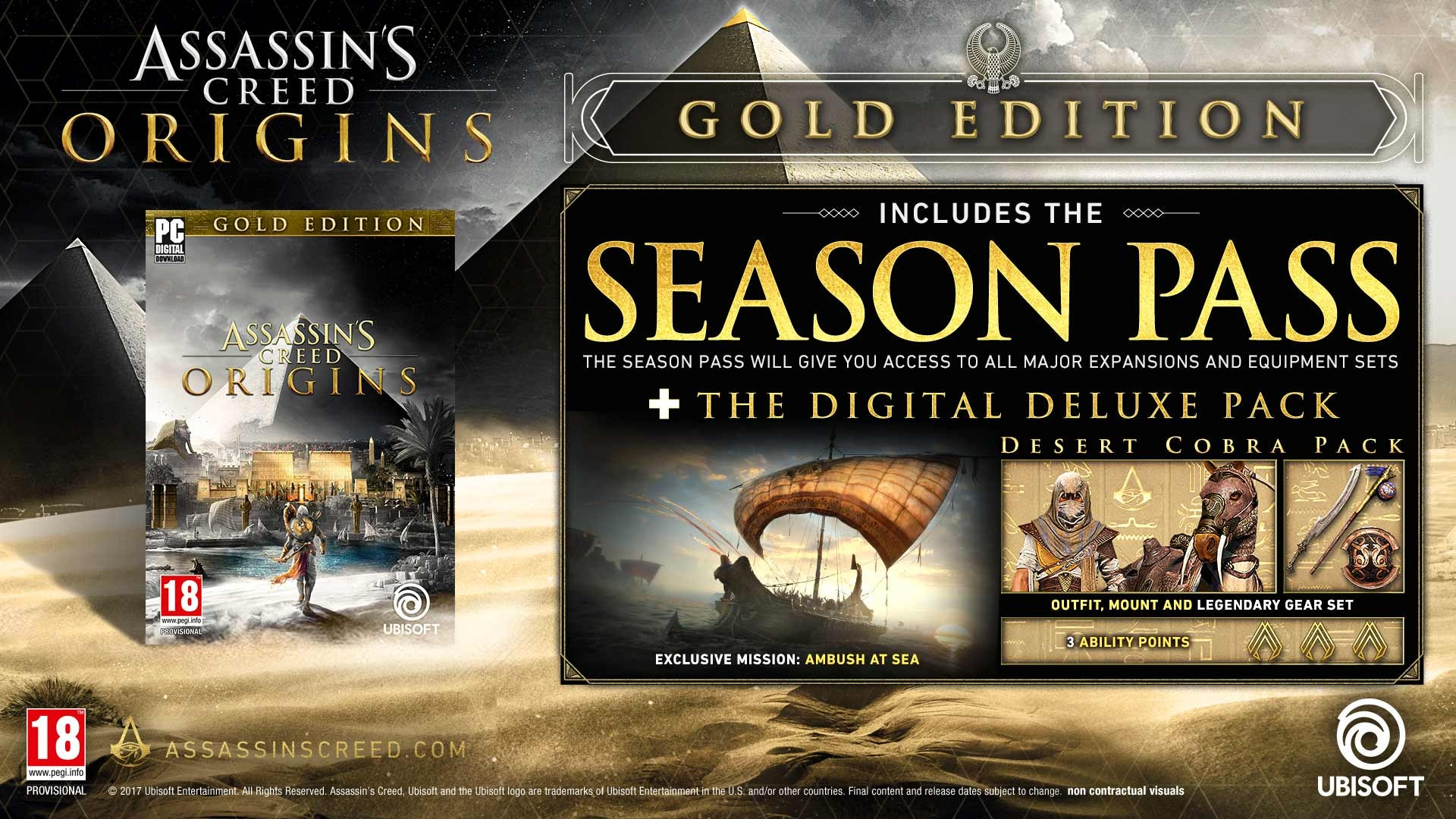 Assassin S Creed Origin Gold Edition