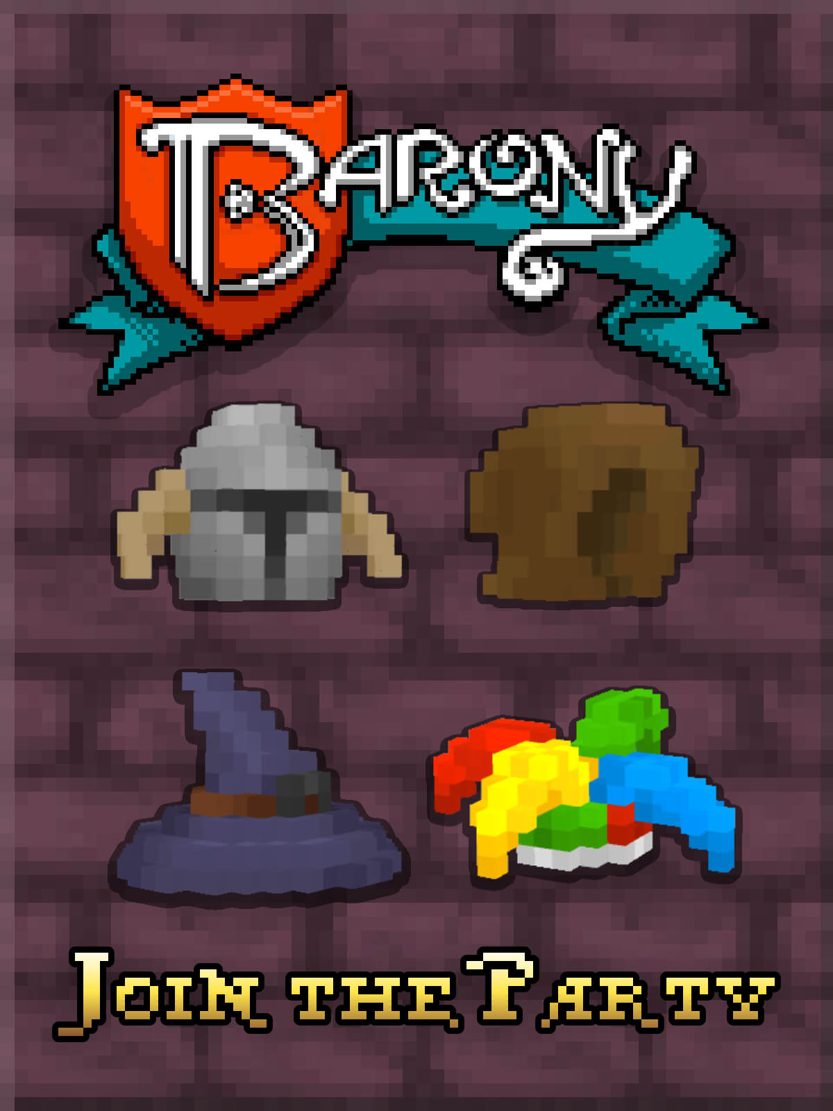 Barony - Join the Party in Barony! Go on challenging dungeon runs with friends in this first-person roguelike RPG